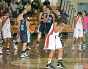 Bishop Diego's girl's basketball team lost the CIF semifinal to Chadwick.