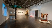 <em>Eating Apples in Paradise</em>, Installation view at Santa Barbara Contemporary Arts Forum.