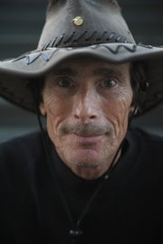 Seann Sinclaire, a nature photographer, has lived in his van in Santa Barbara for four years.