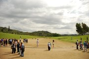 Running track at Olympia.