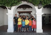 Students from Stony River, Alaska visit Santa Barbara, California