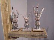 Jean-Dwight Ledbetter's pudgy figures.