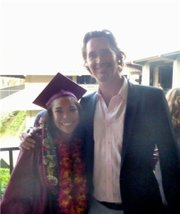 Chelsea Sandoval & Rotarian Graham Guess