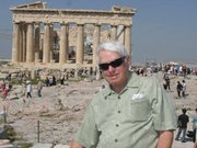 Barney Brantingham at the Parthenon.