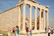 Erechtheion Temple at the Acropolis
