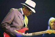 Hubert Sumlin (Muddy Waters's guitarist) in Nashville, ca. 2002