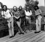 Duncan (center) with Slamhammer (Topanga Canyon, ca. 1975)