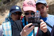 Students from the United States and the Greater Middle East engage in hands-on science while conducting water quality monitoring in the Arroyo Burro watershed.