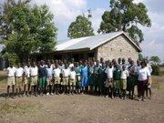 Awareness as Nyamuga School grades 7 & 8.