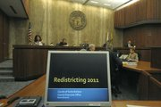 County Board of Supervisors discuss redistricting. August 2, 2011