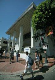 Opening day at Marshalls in Santa Barbara Aug 4, 2011