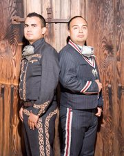 Ernesto Rodriguez (left) and Albert Martinez