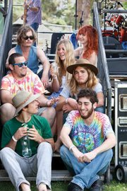 Santa Barbara's Sprout (clockwise from top left: Colin Shepherd, Erin Chapin, Caitlin Gowdey, Zach Doiron, Geoff Levy, Stephen Desrochers, and Scott Foreman) plays SOhO Wednesday, August 31.