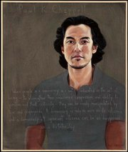 Robert Shetterly's portrait of Paul Chappell