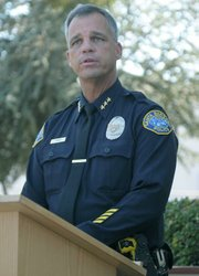 <strong>EBB AND FLOW:</strong>  Violent crime has notably declined two years in a row, according to Assistant Santa Barbara Police Chief Frank Mannix, while property crimes are on the rise.
