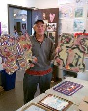 Allen Schiller and his pieces