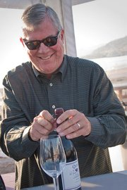 Bob Lindquist, Qupe, who won for his Syrah.
