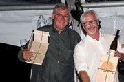 Bob Lindquist, Qupe, and Robert Sinskey, Robert Sinskey, accepting awards.