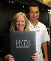 Gail Hansen and Orlando Luna