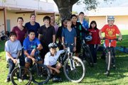 A Pedal Power class at La Colina Junior High.