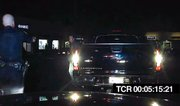Still image taken from Officer Aaron Tudor's dash-cam video