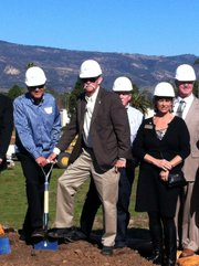 Deckers groundbreaking ceremony