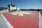 Santa Barbara Cottage Hospital's helipad