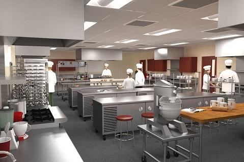 Carpinteria High School Professional Teaching Kitchen