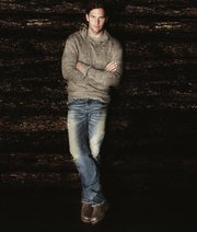 New England Patriots Quarterback Tom Brady in an advertisement from the Ugg for Men campaign