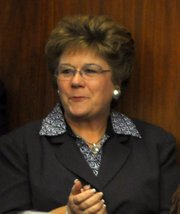 Joni Gray&#39;s assistant, Susan Warnstrom was president of Lompoc Housing until recently resigning.