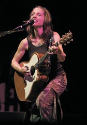 Ani DiFranco at the Lobero Theatre