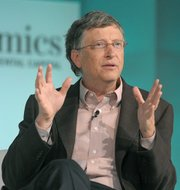 Bill Gates speaks at The Wall Street Journal's ECO:nomics conference Mar. 22, 2012