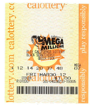 Partnervest Financial Group has donated this Mega Millions ticket — and any winnings it should garner — to the Santa Barbara Unified School District.