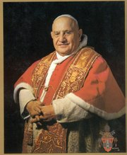 "Dunn and Love cut their teeth theologically when Pope John XXIII (above) was ushering in the groundbreaking reforms of Vatican II 49 years ago. Since then, they contend, successive popes have beaten a steady retreat from Vatican II. ""You can't be empowered and then disempower yourself,"" Dunn said."