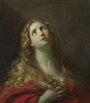 "As a matter of faith, the Vatican insists women cannot be ordained, in part, because Jesus Christ selected only men to serve as his apostles. Reverends Love and Dunn counter that Mary of Magdala (above, by artist Guido Reni, 1634) was described in scripture as ""the apostle to the apostles."" Ironically, it would be on Mary of Magdala's feast day that the Vatican announced the excommunication of the first seven women to be ordained as priests."