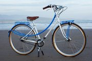 Lyle won Best City Bicycle at the 2012 North American Handmade Bicycle Show with the Messaluna Mixte