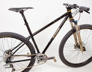 Aaron won Best New Builder at North American Handmade Bicycle Show with this bike.