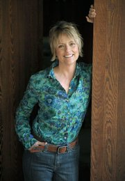 Lee Wardlaw at her home in Santa Barbara April 6, 2012