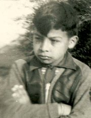 Alberto at around 6 years old, circa 1937.
