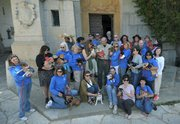 Chihuahuas at the Santa Barbara Courthouse as part of the Whole Enchihuahua program (May 5, 2012)