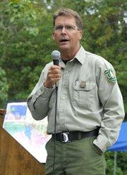 U.S. Forest Service Fire Chief Mark vonTillow