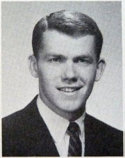 UCSB yearbook photo of Jeff Henley, class of 1966