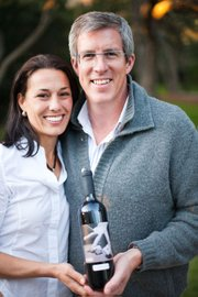 Ali and Charles Banks, of Cultivate Wines