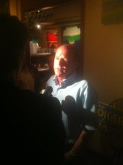Mike Stoker talks to KEYT's John Palminteri