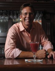 Scott Wallin and The Farmers Market Cocktail.