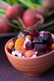 Beets and Tangerine Salad