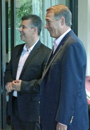 Maldonado was visited by Speaker of the House John Boehner the same day for a fundraiser on his behalf.