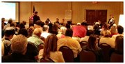 About 200 people packed the Buellton Marriott's ballroom to learn more about the winery ordinance.