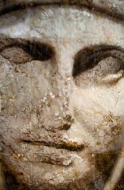 """Mary Heebner's """"Theo: Geography of a Face"""" (2009)"""