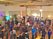 A scene from Santa Barbara's first Startup Weekend last June.